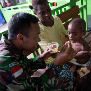 AFP PHOTO / BAY ISMOYO