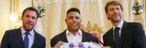 Ronaldo é apresentado como acionista majoritário do Real Valladolid