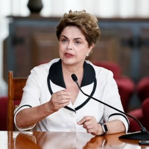 Dilma Rousseff fala que há