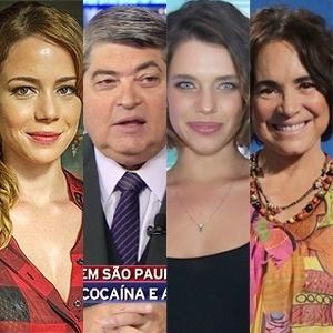 TV Globo/ Reprodução, Divulgação, Roberto Filho/Brazil News, Marcello Sá Barretto e Alex Palarea/AgNews
