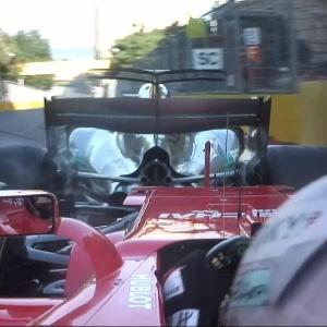 Hamilton diz que Vettel foi 'rude' em batida; ferrarista fala em
