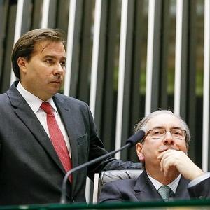 Rompidos, Maia e Cunha foram parceiros por 16 meses contra Dilma