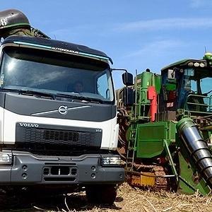 Automação chega à lavoura de cana, que tem caminhão sem motorista