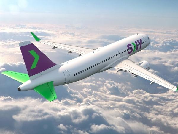 A companhia chilena Sky Airline voará regularmente para São Paulo e Rio de Janeiro