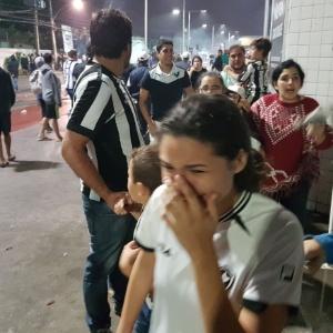Torcida do Bota entra em confronto com a PM após jogo no Rio de Janeiro